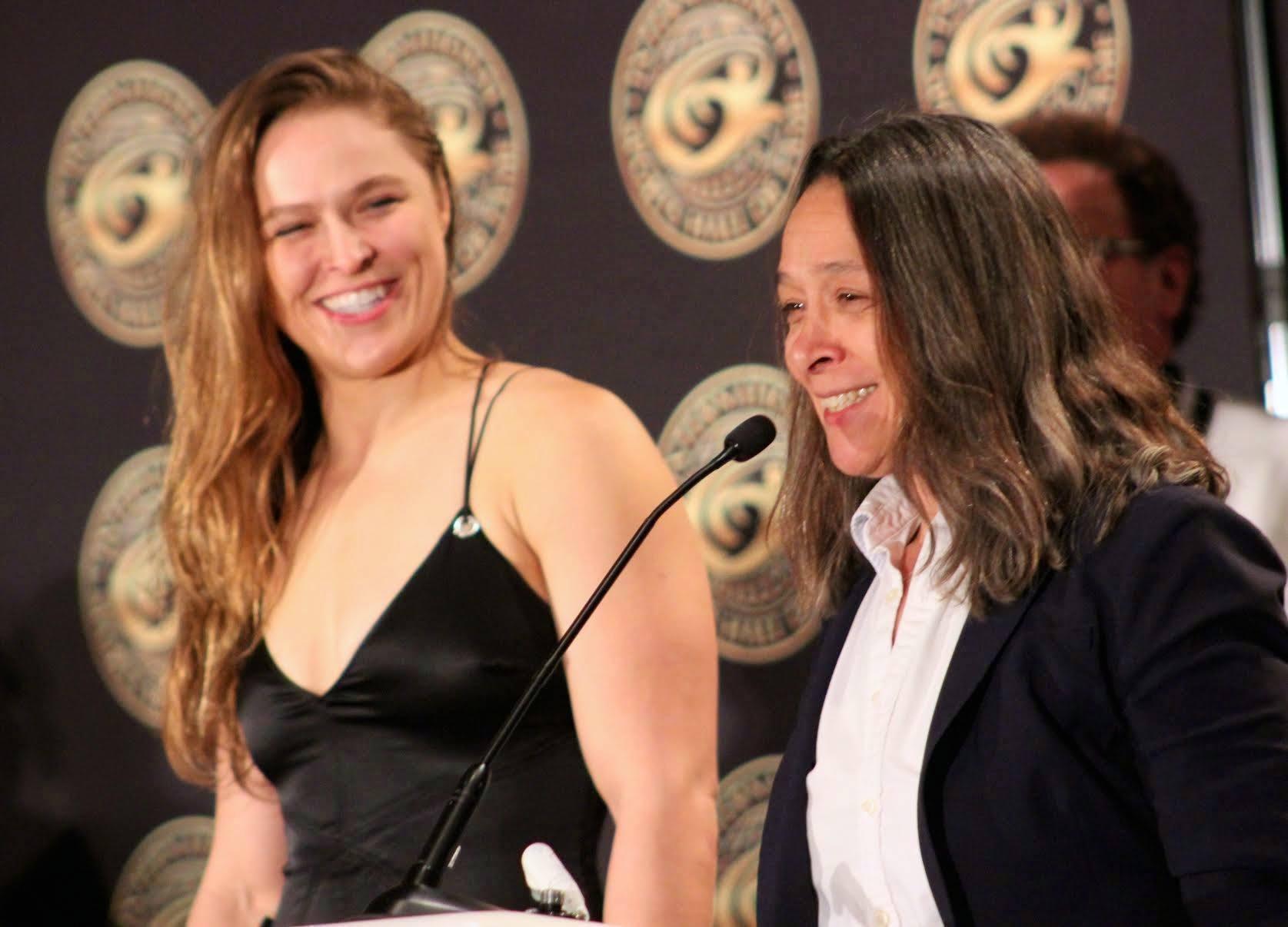 AnnMaria De Mars, Ronda Rousey's mom