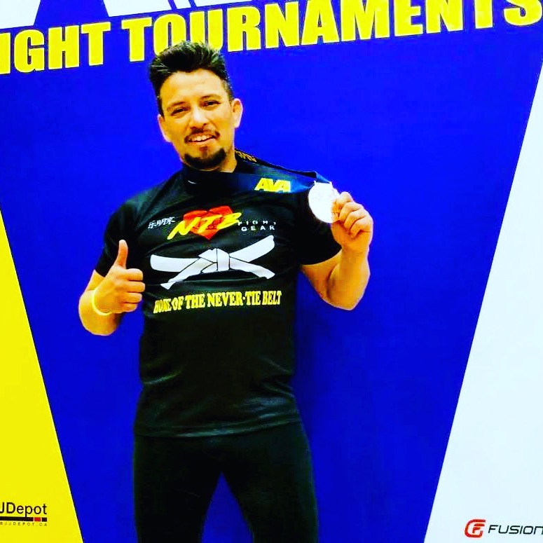 Eduardo Aragon, blue-belt competitor BJJ